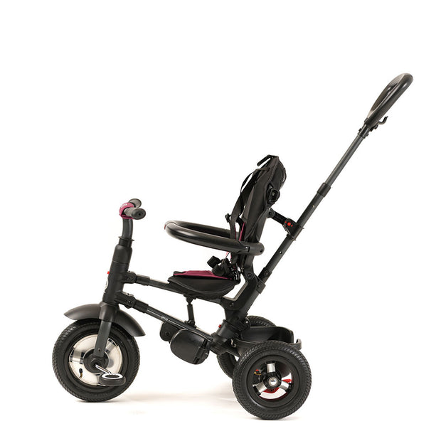 BURGUNDY RITO PLUS FOLDING TRIKE - Smart Trike for Kids with push handle