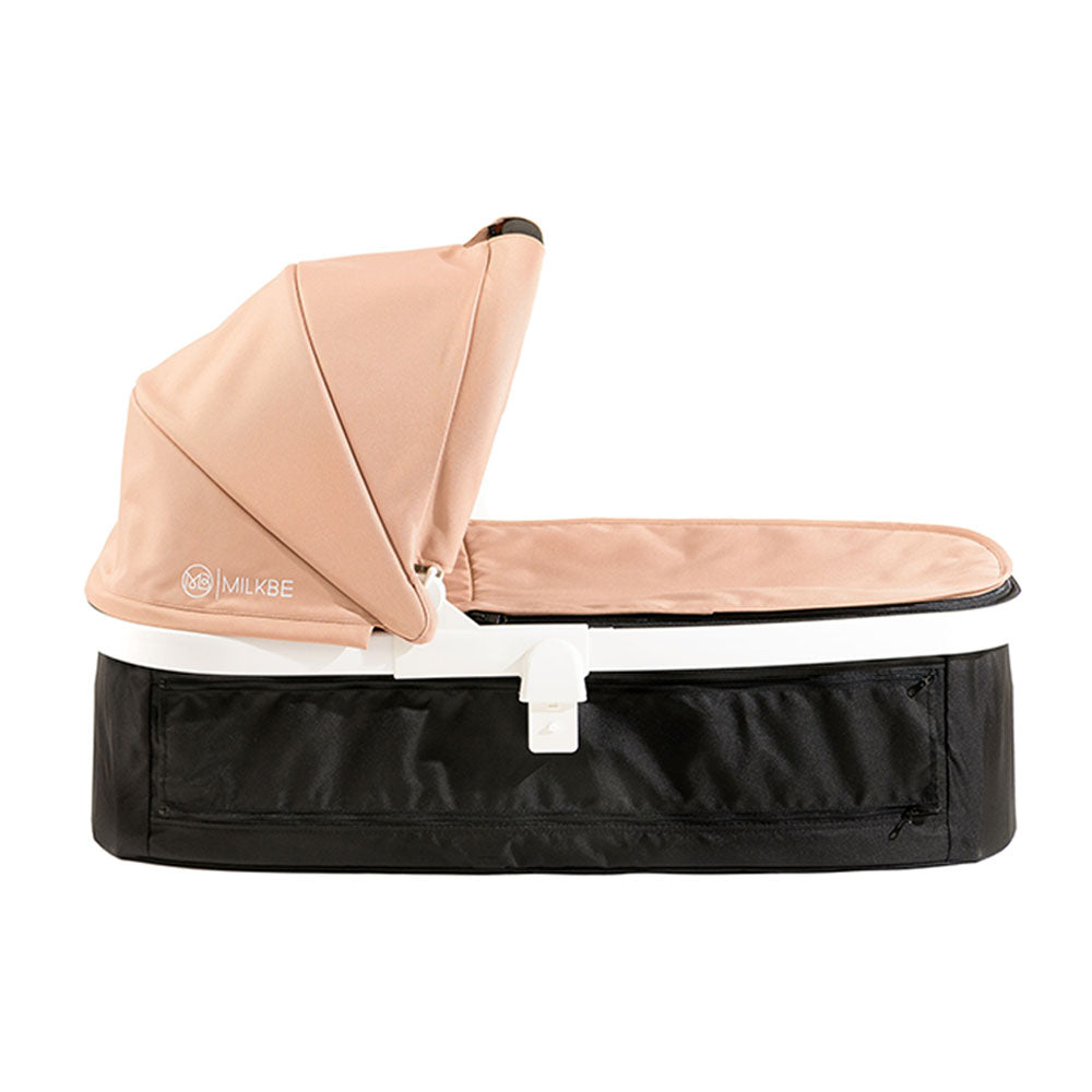 Gold Milkbe Carry Cot - Carry Cot for Luxury Milkbe Stroller