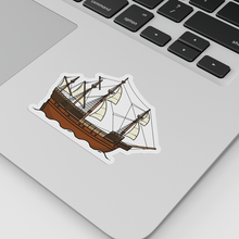 Load image into Gallery viewer, The Mary Rose die-cut vinyl sticker designed by Christine Wilde at Vault 84