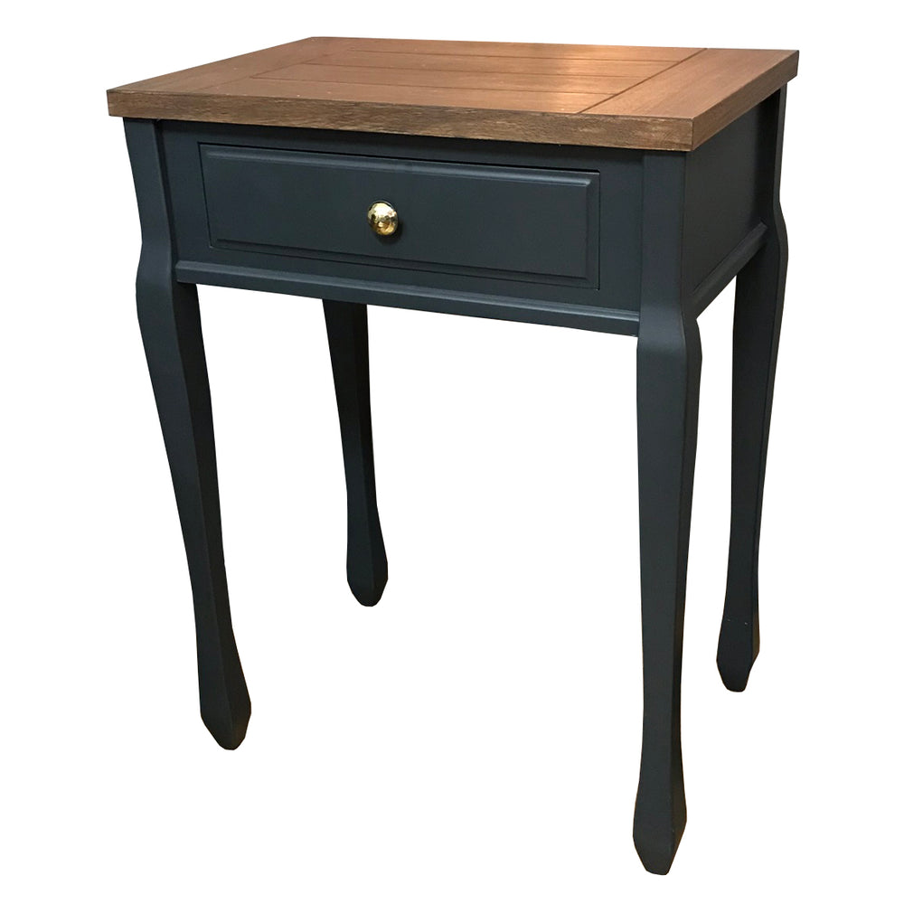 Bailey Blanc One Drawer Lamp Table