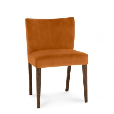Kelsey Low Back Upholstered Chair (5 Colours Available)