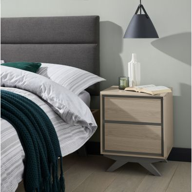 Davis 2 Drawer Nightstand
