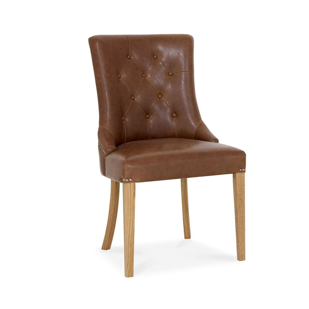 Nancy Upholstered Arm Chair (2 Colours Available)