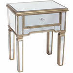 Regina Mirrored End Table