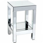 Regina Mirrored Lamp Table