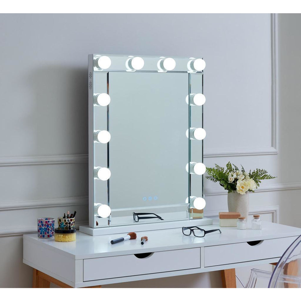 LA Mirror with bluetooth (full mirrored finish)