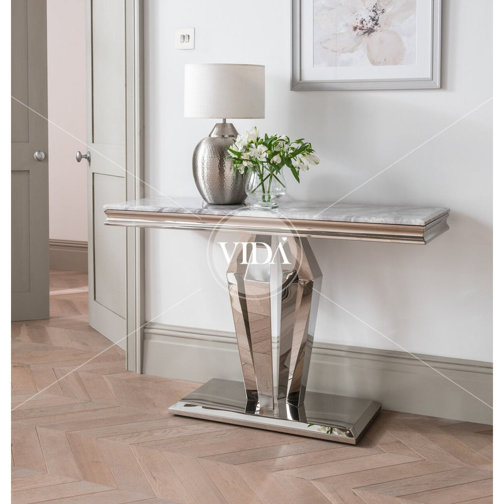 Donnelly Console Table - Grey