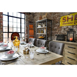 Selma 2m Fixed Top Dining Table