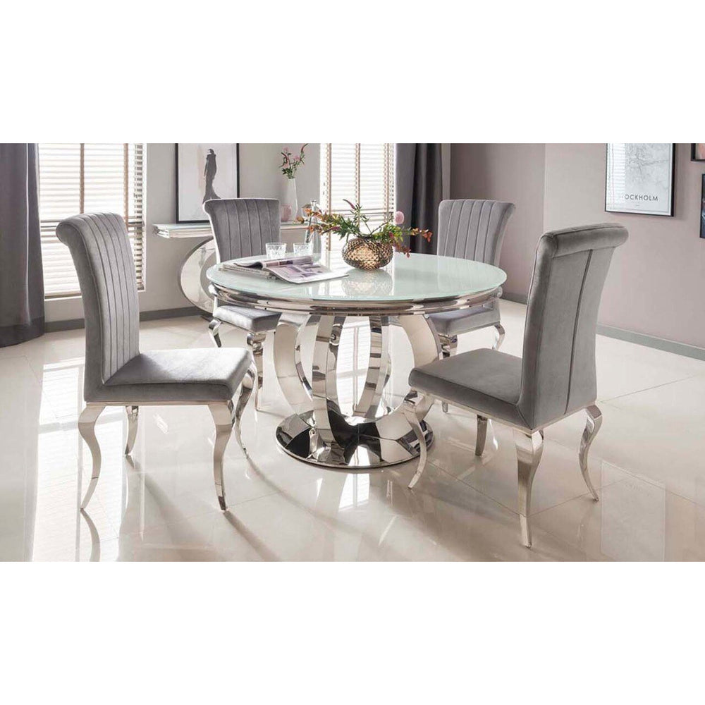 Boston Round Table - White