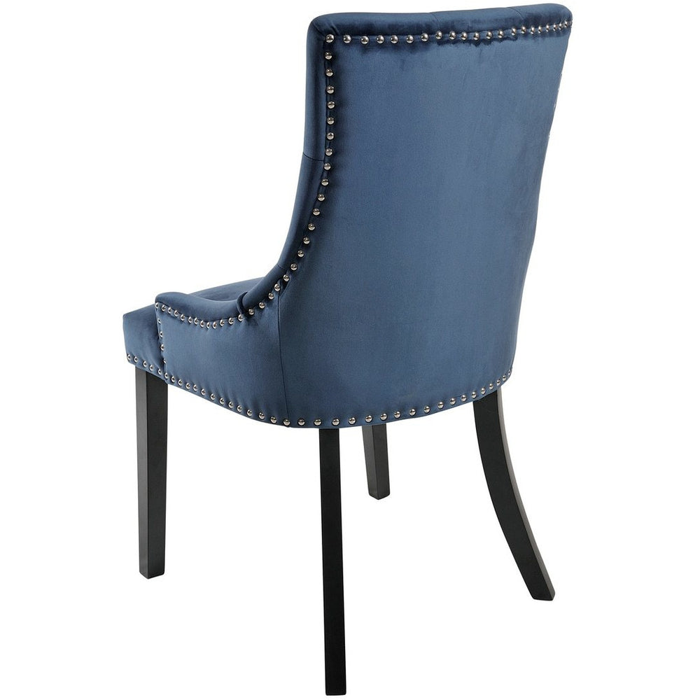 Olivia Chair With Black Legs Chair x 2 (3 Colours Available)