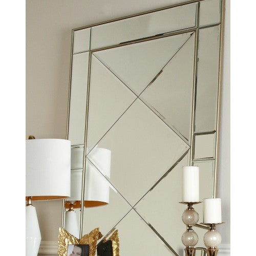 Boston Gold Wall Mirror
