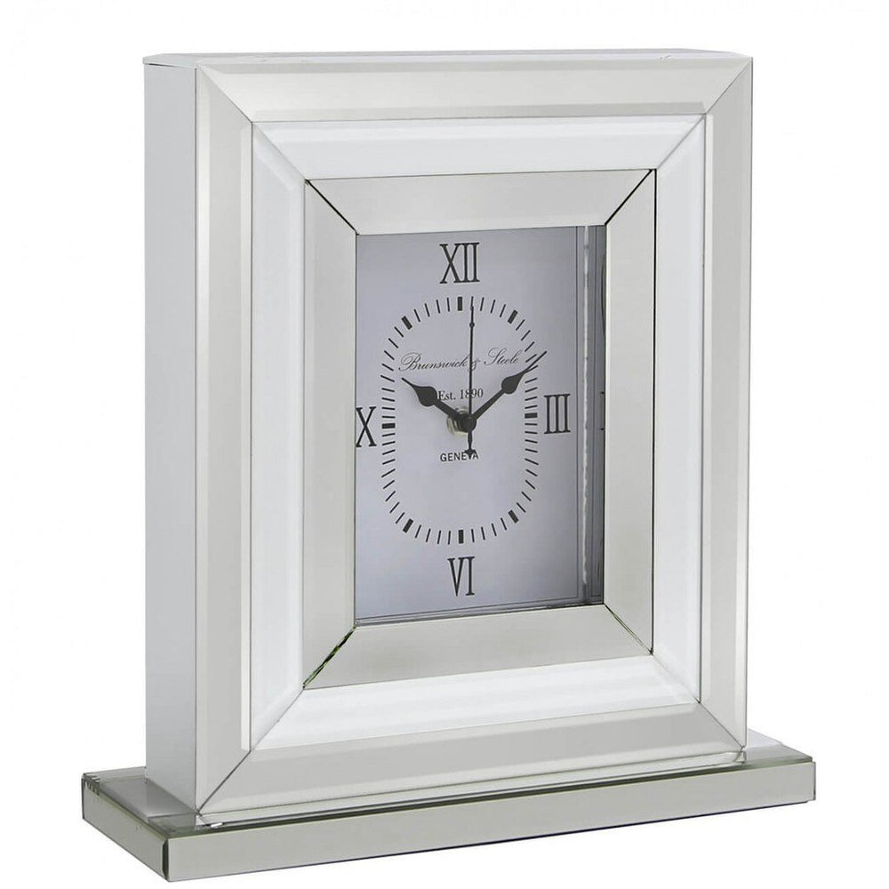 White Brook Table Clock