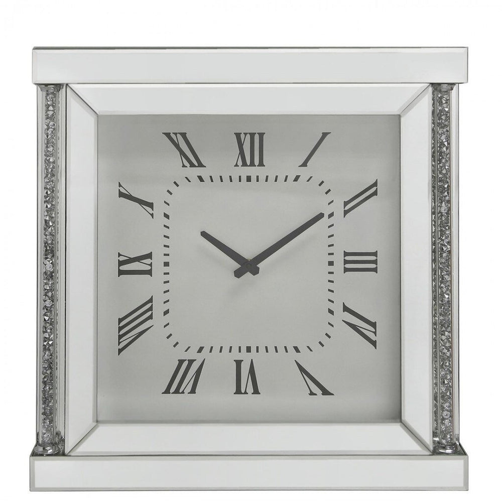 Naples Mirror Wall Clock