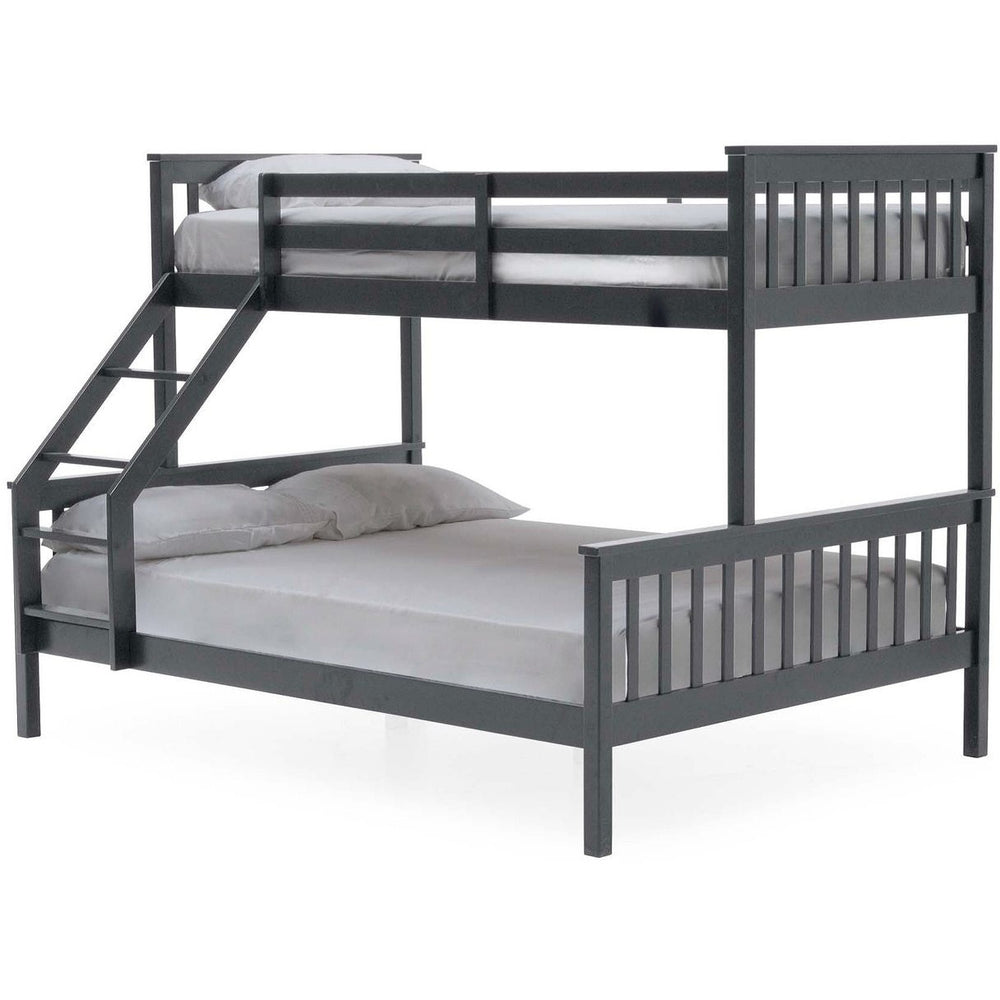 Jinx Bunk Single Bed & Double (3 Colours Available)