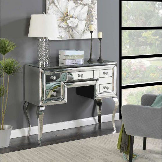 Monty 5 Drawer Console