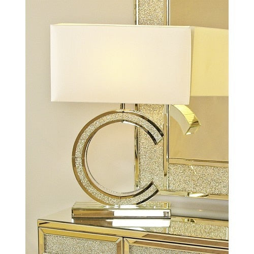 Milo Mirror 'C' Small Premium Table Lamp
