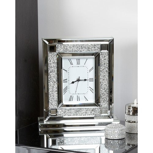 Milo Mirror Table Clock