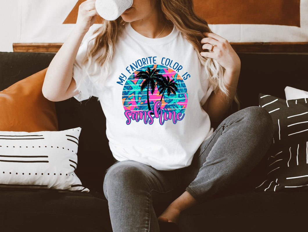 Favorite Color Is Sunshine T-Shirt