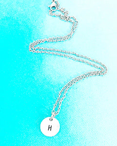 Custom Initial Necklace - Lasting Impressions CT