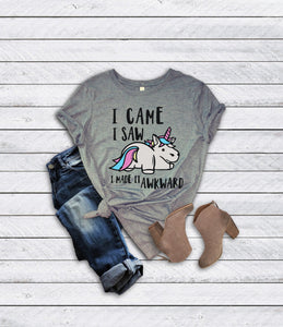 Awkward Unicorn T-Shirt