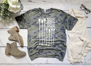 Arrow Flag Camo T-Shirt