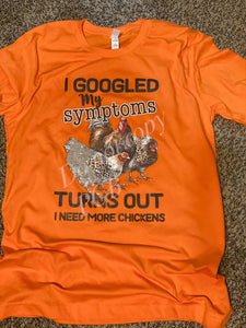 Just need chickens
