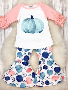 Fall Preorder: Pinks and Blues Pumpkin Bell Set