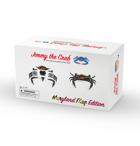 Wholesale - Jimmy the Crab - Maryland Flag Edition