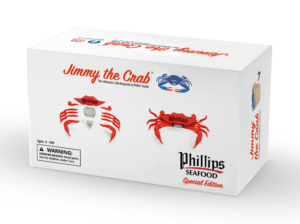 Jimmy the Crab - Phillips Seafood Edition - PREORDER NOW