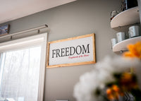 Freedom Canvas
