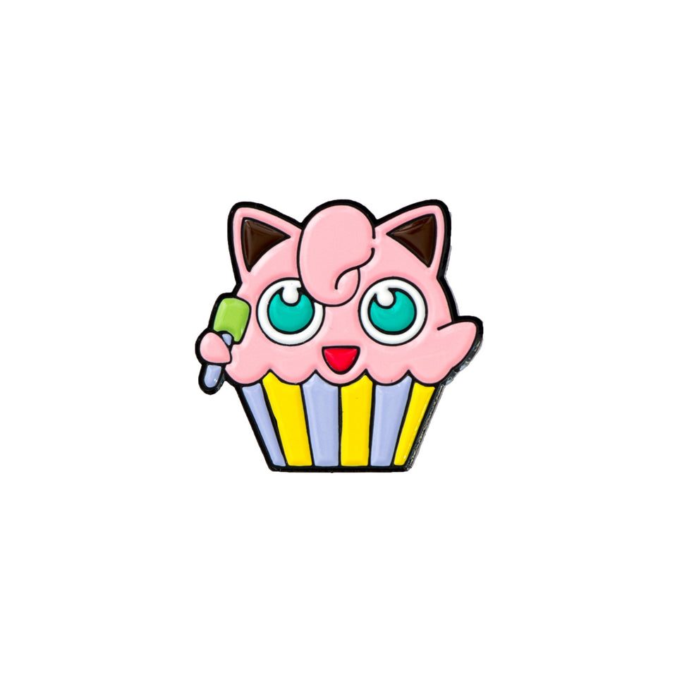 Jigglypuff cupcake - The Sunday Co.