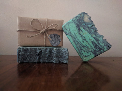 Cthulhu Fhtagn Artisan Soap | All The Way Handmade | Handmade Soap | Artisan Soap | Small Business