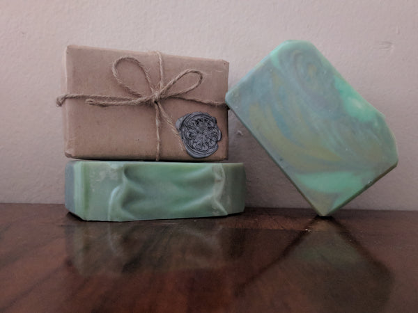 Fresh N Green Artisan Soap | All The Way Handmade | Handmade Soap | Artisan Soap | Small Business