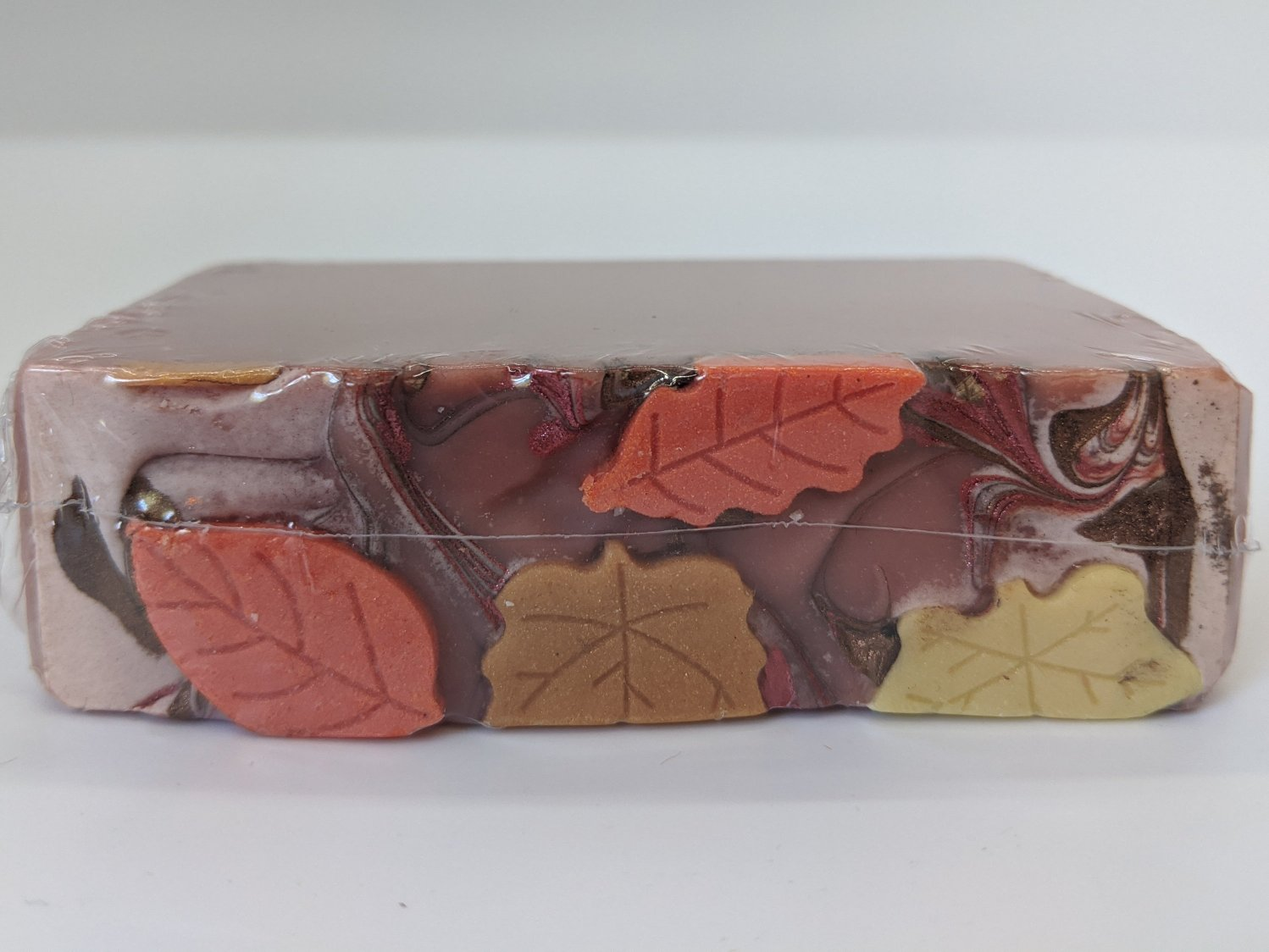 Red Fruit Herbal Tea Autumn Artisan Soap | All The Way Handmade | Handmade Soap | Artisan Soap | Small Business
