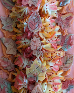 Autumn Cider Frosted Artisan Soap | All The Way Handmade | Handmade Soap | Artisan Soap | Frosted Soap | Small Business