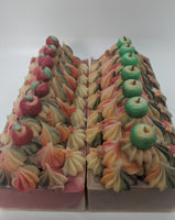 Freshly Picked Apples Frosted Artisan Soap
