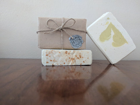 Young Balsam and Snow Artisan Soap | All The Way Handmade | Handmade Soap | Artisan Soap | Small Business