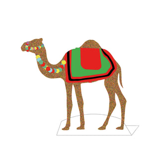 Dress up Camel Activity from Doha Designs