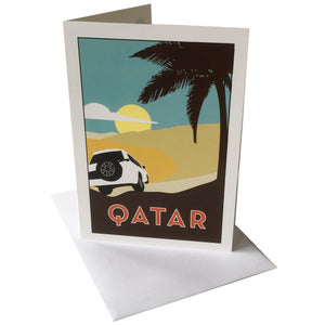 Greetings Card--Qatar design