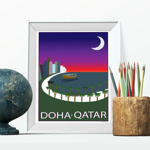 Corniche at Sunset Framed Print lifestyle image