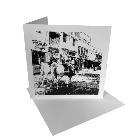 Horse Guards Greetings Card & envelope