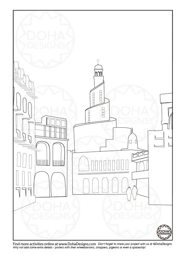 Activity & Colouring Pages
