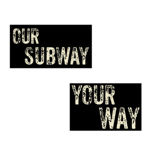 Our Subway Your Way from Doha Designs