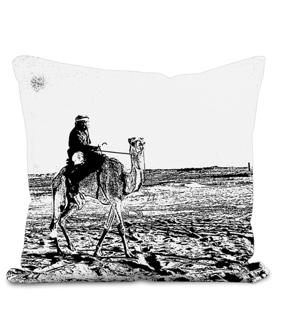 Camel Rider Cushion