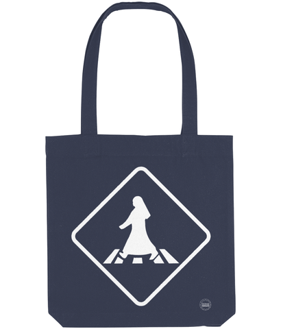 Pedestrian Tote Bag in blue