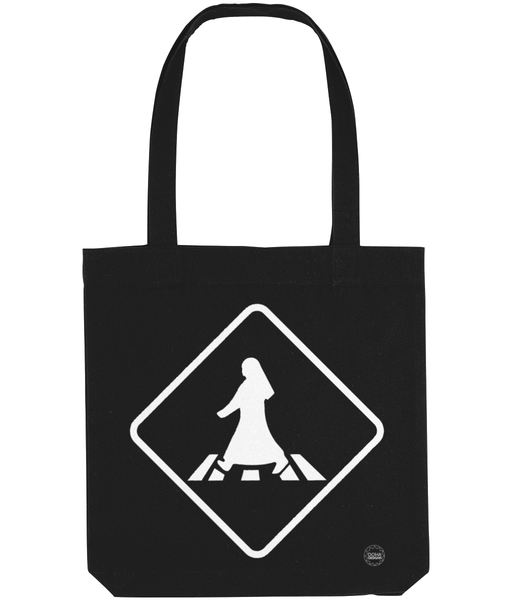 Pedestrian Tote Bag in black