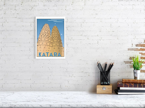 Katara print from Doha Designs lifestyle shot