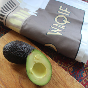 Souq Waqif Tea Towel with avocado