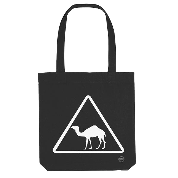 Camel Tote Bag in black