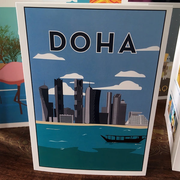 Doha Greetings Card
